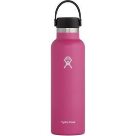 Hydro Flask Standard Mouth Bidón con Tapa Estándar Flex 621ml, rosa